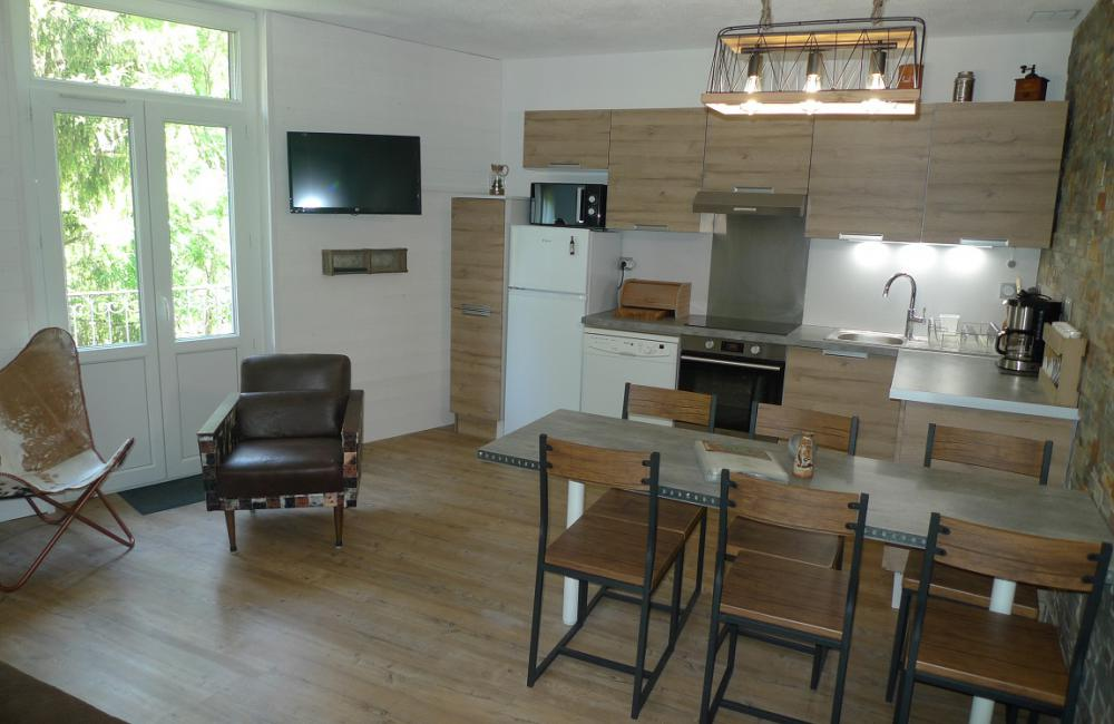 Cuisine équipée - appartement Luz St Sauveur