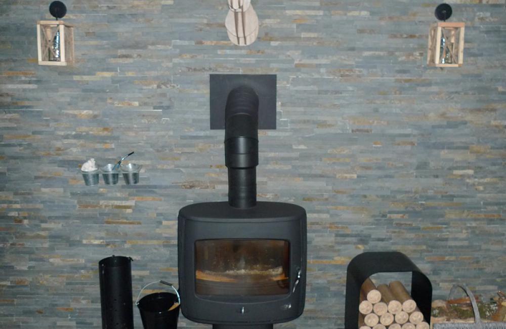 Coin cheminée - appartement Luz St Sauveur